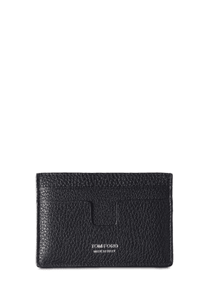 T Line Classic Leather  Card Holder