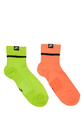 Pack Of 2 Sneaker Crew Socks