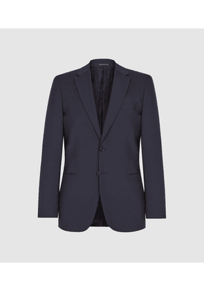 Reiss Hope - Modern Fit Travel Blazer in Navy, Mens, Size 42L