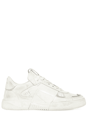 20mm Vltn Leather Sneakers