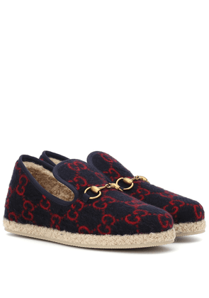 GG wool loafers