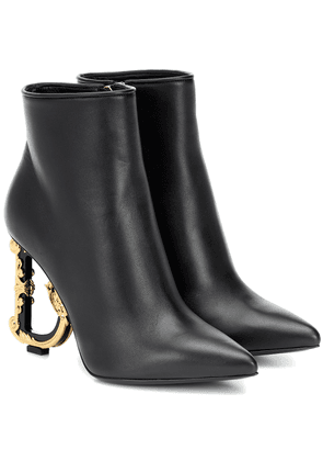 Devotion leather ankle boots