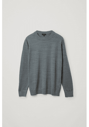 RELAXED LINEN-COTTON SWEATER