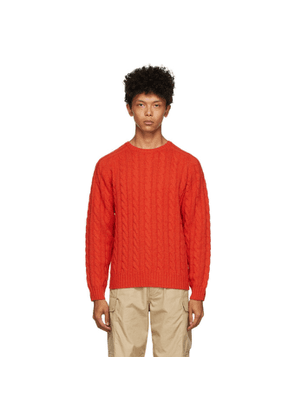 BEAMS PLUS Red 5G Sweater