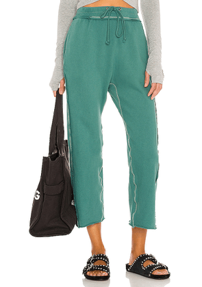 Free People X FP Movement Cool Factor Pant in Dark Green. Size S, XS.