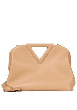 The Triangle leather shoulder bag