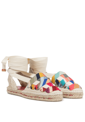 x Paul Smith Jean cotton canvas espadrilles