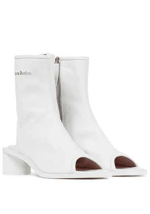 Berla cut-out leather boots