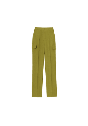 Burberry Wool Ramie Tailored Trousers