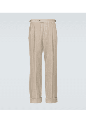 Relaxed-fit corduroy pants