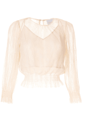 Alice McCall Harvest Moon ruched blouse - PINK