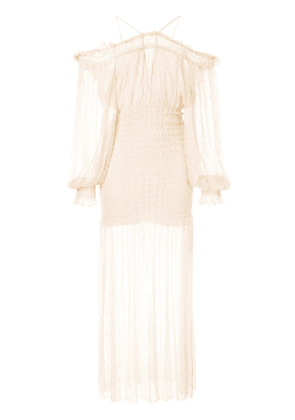 Alice McCall Harvest Moon dress - Neutrals