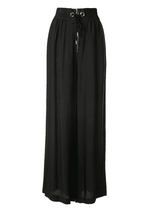 Alice McCall gathered palazzo trousers - Black