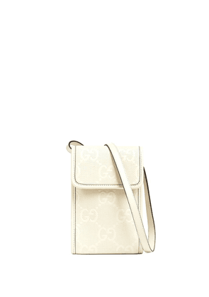 Gucci GG embossed mini bag - White