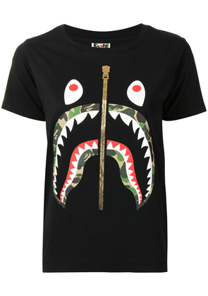 A BATHING APE® camouflage-print T-shirt - Black