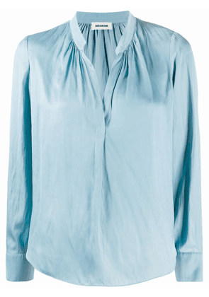 Zadig&Voltaire Tink satin blouse - Blue