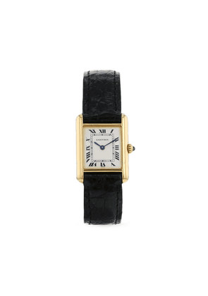 Cartier 1990 pre-owned Tank 20.5mm - White