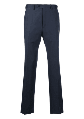 Brioni straight tailored trousers - Blue