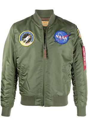 Alpha Industries Nasa MA-1 bomber jacket - Green