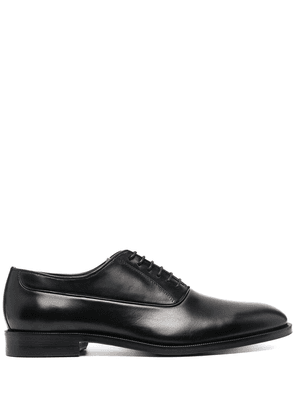 Canali lace-up leather shoes - Black