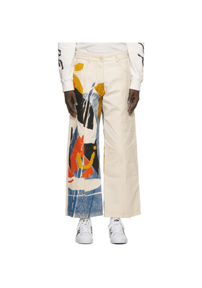 Bethany Williams Multicolor The Magpie Project Edition Bell Tent Trousers