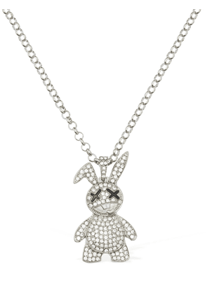 Crystal Bunny Chain Necklace