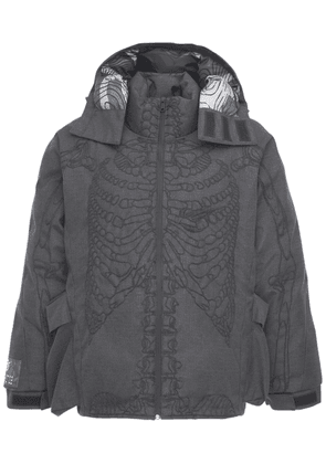Ultrasound Embroidered Puffer Jacket
