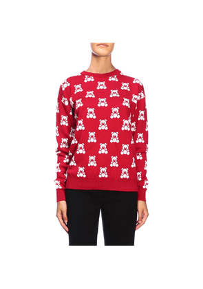 Jumper Moschino Couture Crew-neck Jumper With All Over Teddy