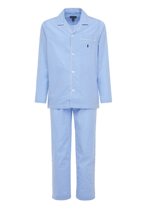 Cotton Button Down Pajama Set