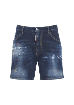 26.5cm Dan Commando Cotton Denim Shorts