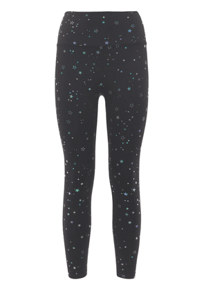 Tossed Star High Waisted Midi Leggings