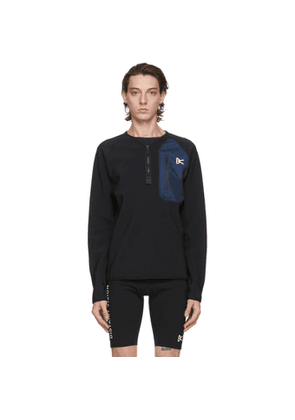 District Vision Black Rocco Insulated Midlayer Sweatshirt