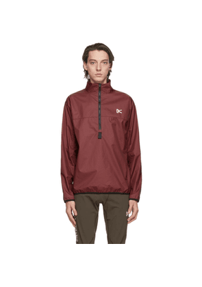 District Vision Burgundy Theo Membrane Shell Jacket