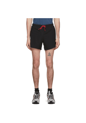District Vision Black Spino 5 Training Shorts