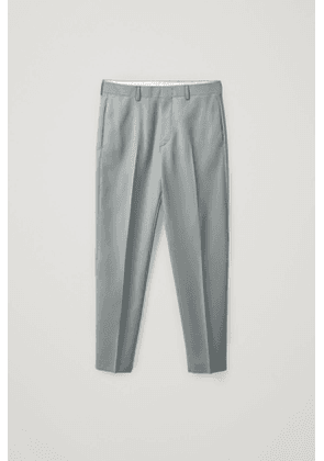 TAPERED SUIT PANTS