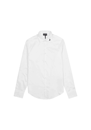 Emporio Armani White Cotton Shirt