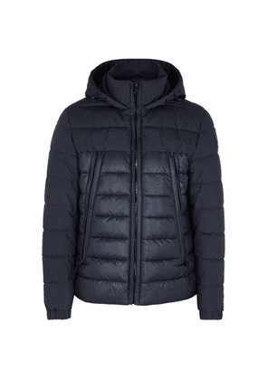 BOSS Cerano Navy Quilted Shell Jacket