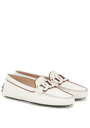 Kate leather loafers