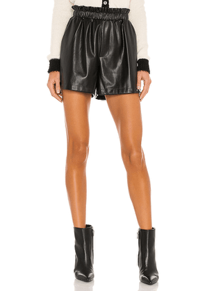 BB Dakota Out Of The Bag Short in Black. Size XS, S, M.
