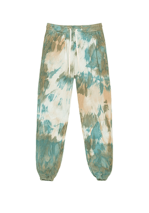 JOHN ELLIOTT LA Sweatpants in Blue,Green,Ombre & Tie Dye. Size M, S, XL, XS.