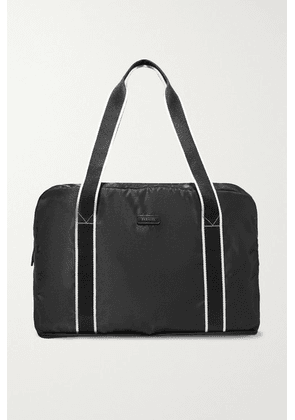 Paravel - + Net Sustain Fold-up Leather And Grosgrain-trimmed Recycled Shell Weekend Bag - Black