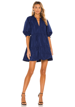 Amanda Uprichard Diego Dress in Navy. Size M, S, XS.