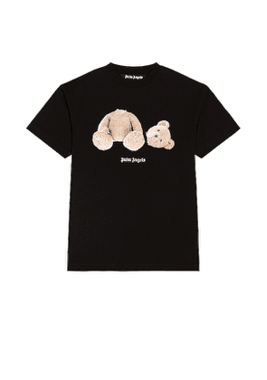 Palm Angels Bear Tee in Black. Size M, S, XL.