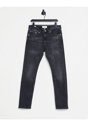 Calvin Klein Jeans skinny fit jeans in washed black
