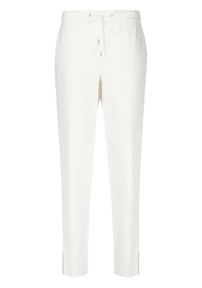 Fabiana Filippi slit cuff trousers - White