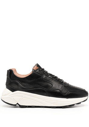 Buttero panelled low-top sneakers - Black