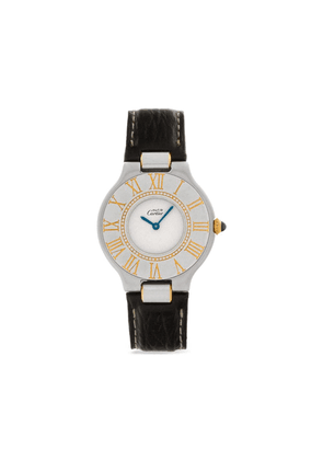 Cartier 1993 pre-owned Must 21 31mm - White