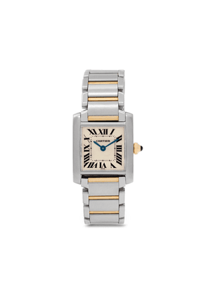 Cartier 2012 pre-owned Tank Francaise 25mm - SILVER
