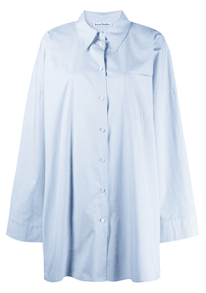 Acne Studios oversized long shirt - Blue