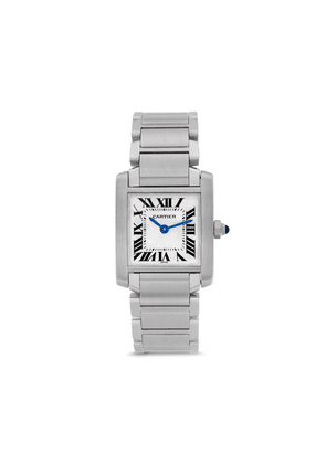 Cartier 1995 pre-owned Tank Francaise 20mm - SILVER